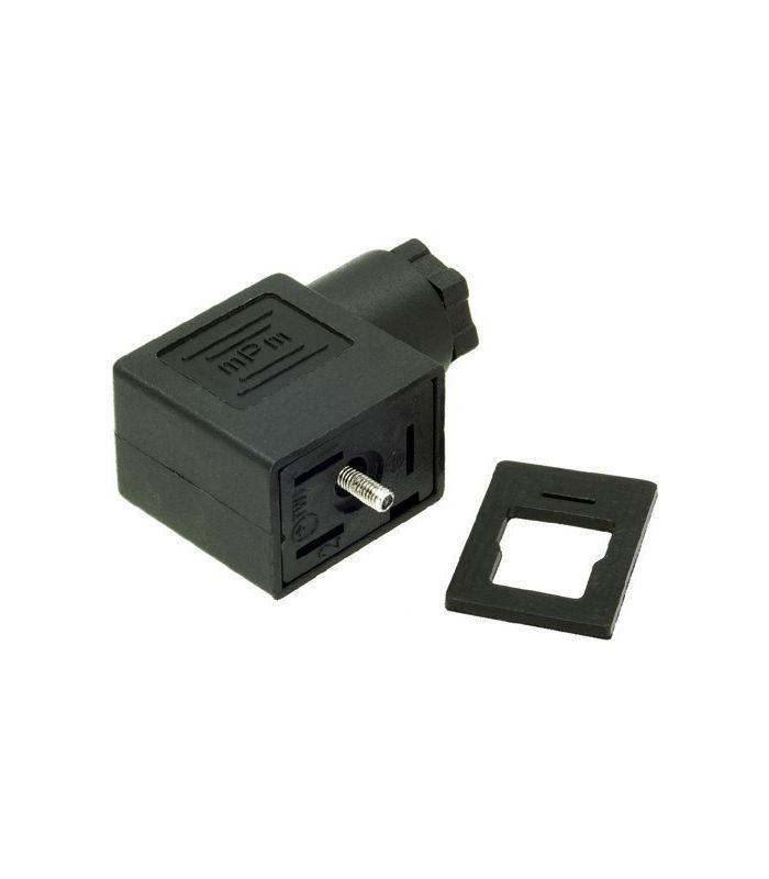 CONECTOR BOBINA T-22 DIN-43650-B