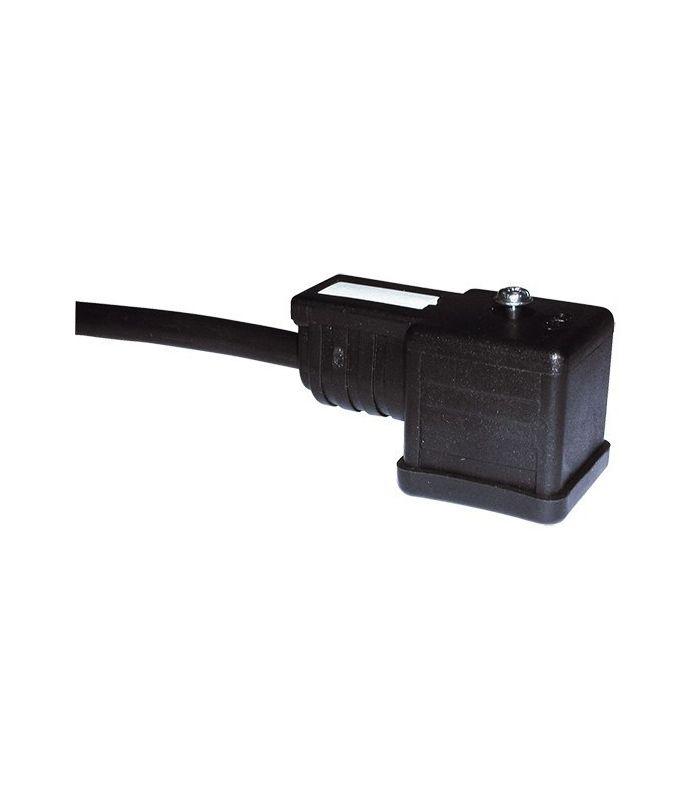 CONECTOR T-30 DIN-43650-A CON CABLE 3 Mt.